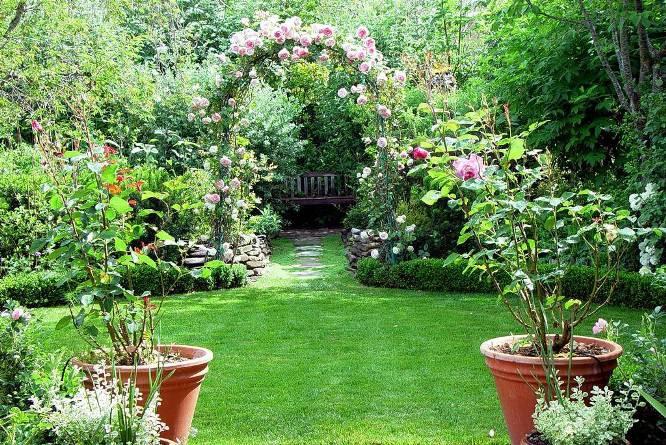 Progettare il giardino u cecconi