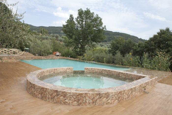 solarium piscina interrata